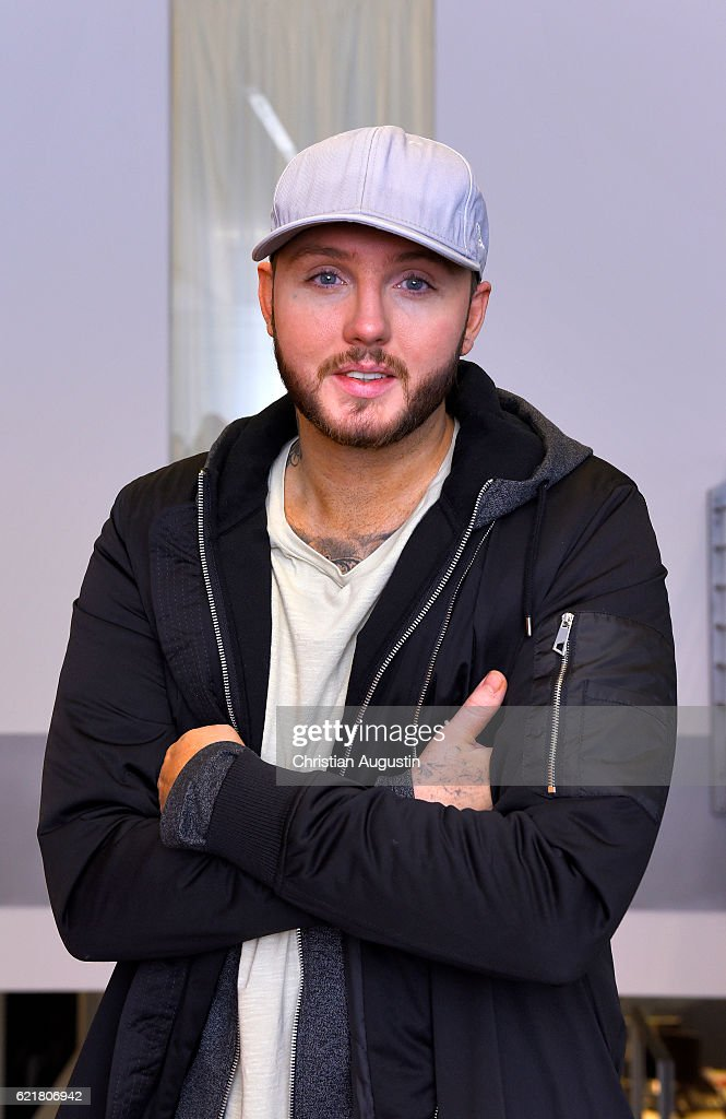 James Arthur visits Radio Hamburg on November 8, 2016 in Hamburg, Germany.