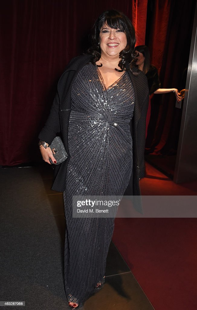 E.L. James attends an after party following the UK Premiere of 'Fifty Shades Of Grey' at aqua London on February 12, 2015 in London, England.