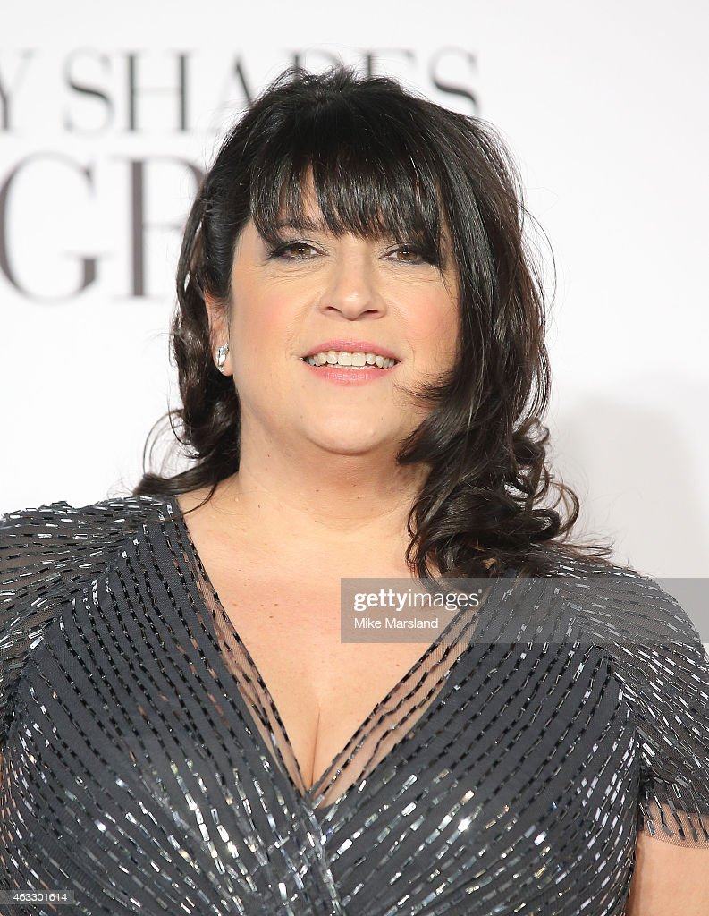 <a gi-track='captionPersonalityLinkClicked' href=/galleries/search?phrase=E.+L.+James&family=editorial&specificpeople=9188438 ng-click='$event.stopPropagation()'>E. L. James</a> attends the UK Premiere of 'Fifty Shades Of Grey' at Odeon Leicester Square on February 12, 2015 in London, England.