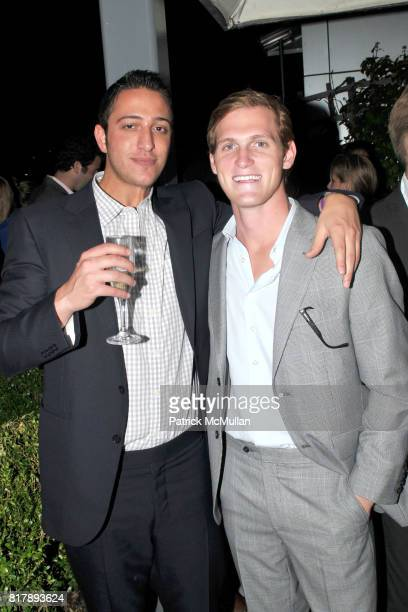 James Awad and Harry SeherrThoss attend ASSOCIATION to BENEFIT CHILDREN Junior Committee Fundraiser at Gansevoort Hotel on September 14 2010 in New...