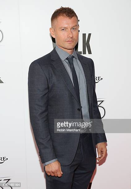 James Badge Dale attends the Opening Night Gala Presentation and 'The Walk' World Premiere during 53rd New York Film Festival at Alice Tully Hall at...
