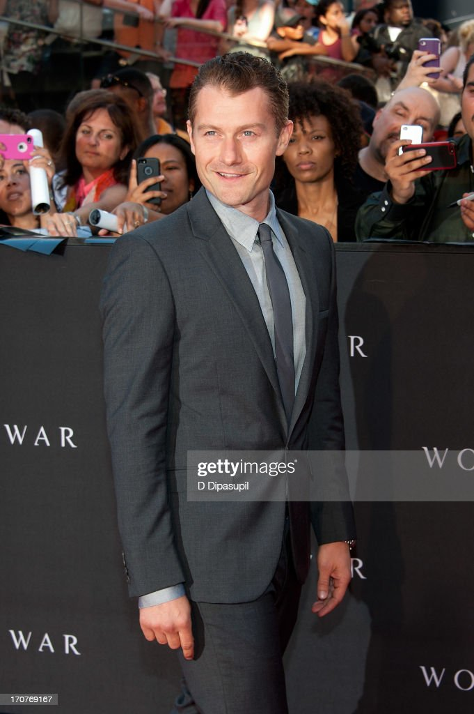 James Badge Dale attends the 'World War Z' New York Premiere on June 17 2013 in New York City