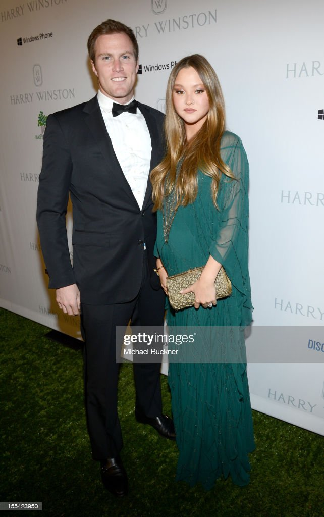 James Bailey and actress <a gi-track='captionPersonalityLinkClicked' href=/galleries/search?phrase=Devon+Aoki&family=editorial&specificpeople=217563 ng-click='$event.stopPropagation()'>Devon Aoki</a> (R) attend the First Annual Baby2Baby Gala event presented by Harry Winston honoring Jessica Alba at Book Bindery on November 3, 2012 in Culver City, California.
