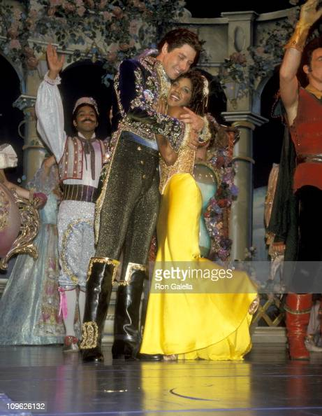 James Barbour and Toni Braxton during Toni Braxton Opens in Beauty the Beast September 9 1998 at Palace Theater in New York City New York United...