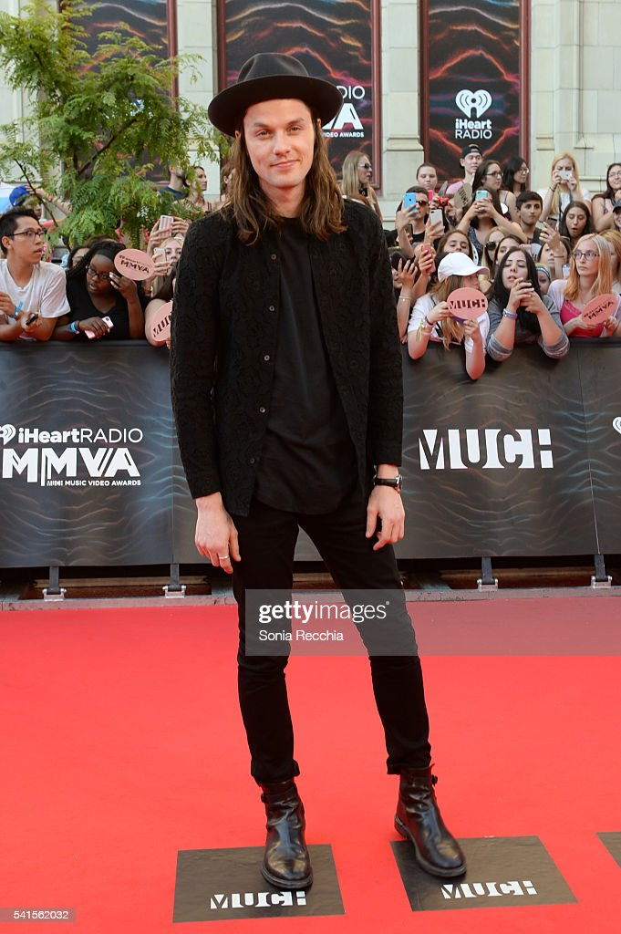 James Bay arrives at the 2016 iHeartRADIO MuchMusic Video Awards at MuchMusic HQ on June 19, 2016 in Toronto, Canada.