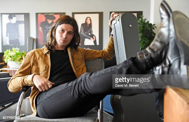 James Bay attends the launch of his new Topman collection at The Ace Hotel on August 8 2017 in London England