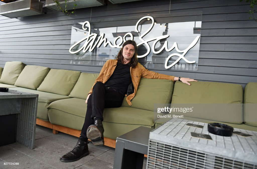 James Bay attends the launch of James Bay's new Topman collection at The Ace Hotel on August 8, 2017 in London, England.