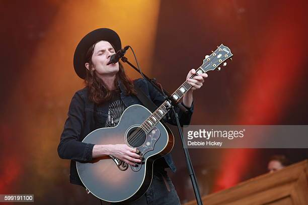 James Bay performs at Electric Picnic Festival at Stradbally Hall Estate on September 4 2016 in Laois Ireland