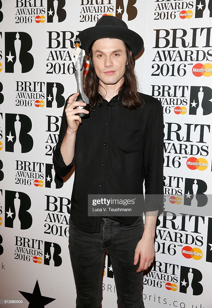 Brit Awards 2016 - Winners Room