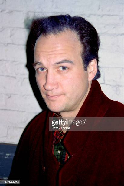 James Belushi during James Belushi sighting in Midtown March 16 1993 at Streets of New York in New York City New York United States