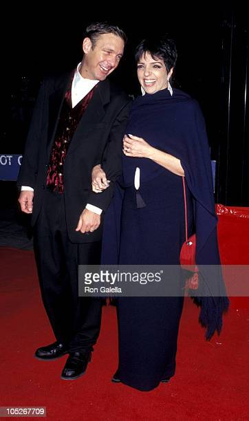 James Bevins and Liza Minnelli during Tavern on the Green Premiere of 'The Mirror Has Two Faces' at Ziegfeld Theater in New York City NY United States