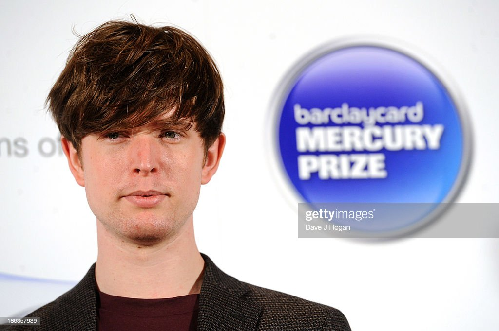<a gi-track='captionPersonalityLinkClicked' href=/galleries/search?phrase=James+Blake+-+Musician&family=editorial&specificpeople=11469926 ng-click='$event.stopPropagation()'>James Blake</a> attends the Barclaycard Mercury Prize 2013 at The Roundhouse on October 30, 2013 in London, England.