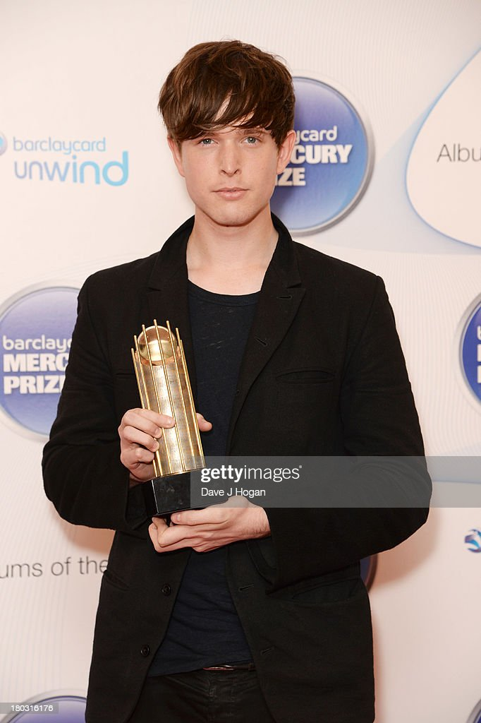 James Blake attends the Barclaycard Mercury Prize shortlist announcement at The Hospital Club on September 11, 2013 in London, England.