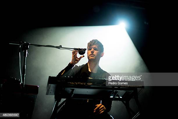 James Blake performs on Day 2 of the NOS Alive Festival on July 10 2015 in Lisbon Portugal