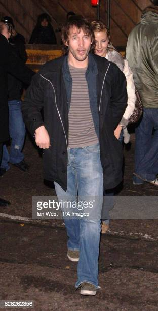 James Blunt arrives at the Grand Classics VIP screening of 'Annie Hall' at the Electric Cinema in Notting Hill west London Monday 12 December 2005...
