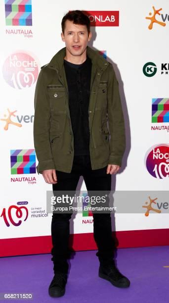 James Blunt attends 'La Noche de Cadena 100' at the Palacio de los Deportes on March 25 2017 in Madrid Spain