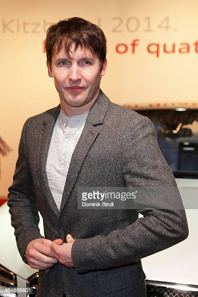 James Blunt attends the Audi Night 2014 on January 24 2014 in Kitzbuehel Austria