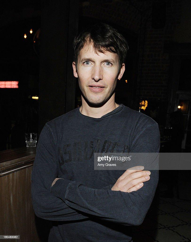 <a gi-track='captionPersonalityLinkClicked' href=/galleries/search?phrase=James+Blunt&family=editorial&specificpeople=209243 ng-click='$event.stopPropagation()'>James Blunt</a> attends the Aventine Restaurant Grand Opening on January 31, 2013 in Hollywood, California.