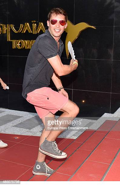James Blunt attends the official launch of Casamigos Tequila in Ibiza at Ushuaia Ibiza Beach hotel on August 23 2015 in Ibiza Spain