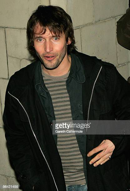 James Blunt attends the screening of Gwyneth Paltrow's favourite film 'Annie Hall' at The Electric Cinema on December 12 2005 in London England