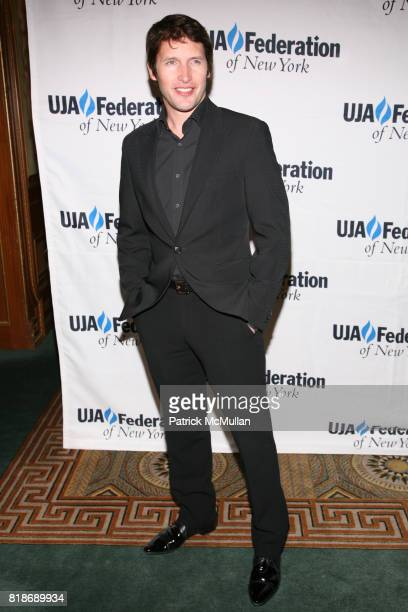James Blunt attends UJAFEDERATION OF NEW YORK honors JULIE GREENWALD and CRAIG KALLMAN with The Music Visionary of the Year Award at The Pierre on...