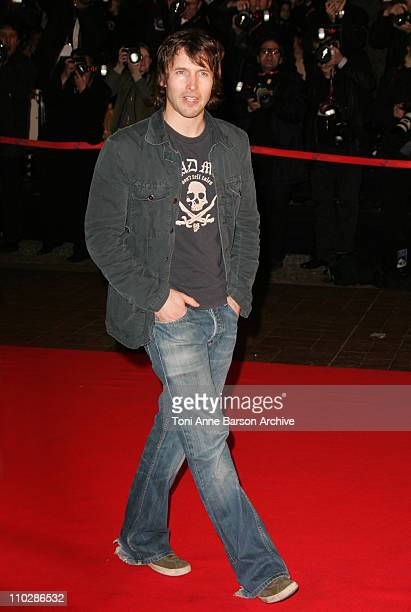 James Blunt during 2006 NRJ Music Awards Arrivals at Palais des Festivals in Cannes France