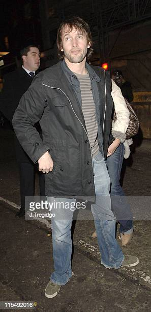 James Blunt during Grand Classics 'Annie Hall' Screening December 12 2005 at The Electric Cinema in London Great Britain