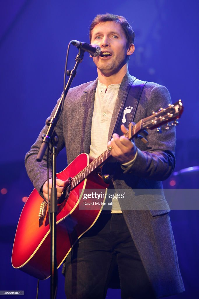 <a gi-track='captionPersonalityLinkClicked' href=/galleries/search?phrase=James+Blunt&family=editorial&specificpeople=209243 ng-click='$event.stopPropagation()'>James Blunt</a> performs at the SeriousFun London Gala 2013, benefiting a growing community of camps and programs serving children with serious illnesses and their families and established by Paul Newman in 1988, at The Roundhouse on December 3, 2013 in London, England.