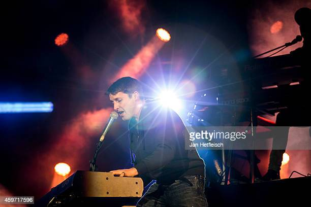 James Blunt performs live on stage during the 'Top Of The Mountain Concert' on November 29 2014 in Ischgl Austria