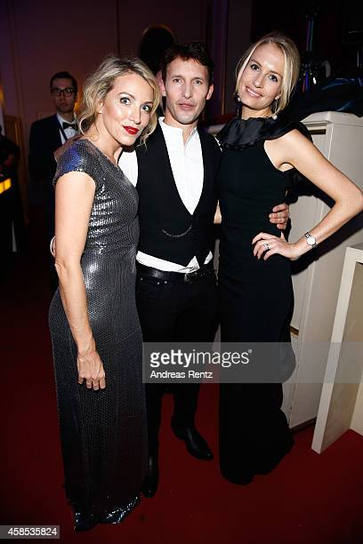 James Blunt Sofia Wellesley and Sanny van Heteren are seen at the after show party of the GQ Men Of The Year Award 2014 after show party at Komische...