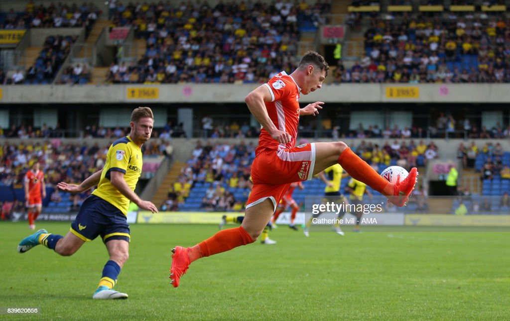James Bolton of Shrewsbury Town during the Sky Bet League One match between Oxford United and Shrewsbury Town at Kassam Stadium on August 26, 2017 in Oxford, England.