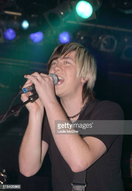 James Bourne during Son of Dork's Album Launch Party at The Mean Fiddler in London November 24 2005 at The Mean Fiddler in London Great Britain