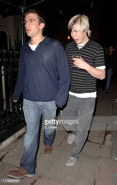 James Bourne during The BRIT Awards 2006 EMI Records After Party at Baglioni Hotel in London Great Britain
