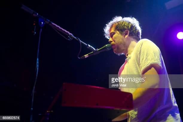 James Bourne of Busted performs on stage at Sala Apolo on March 20 2017 in Barcelona Spain