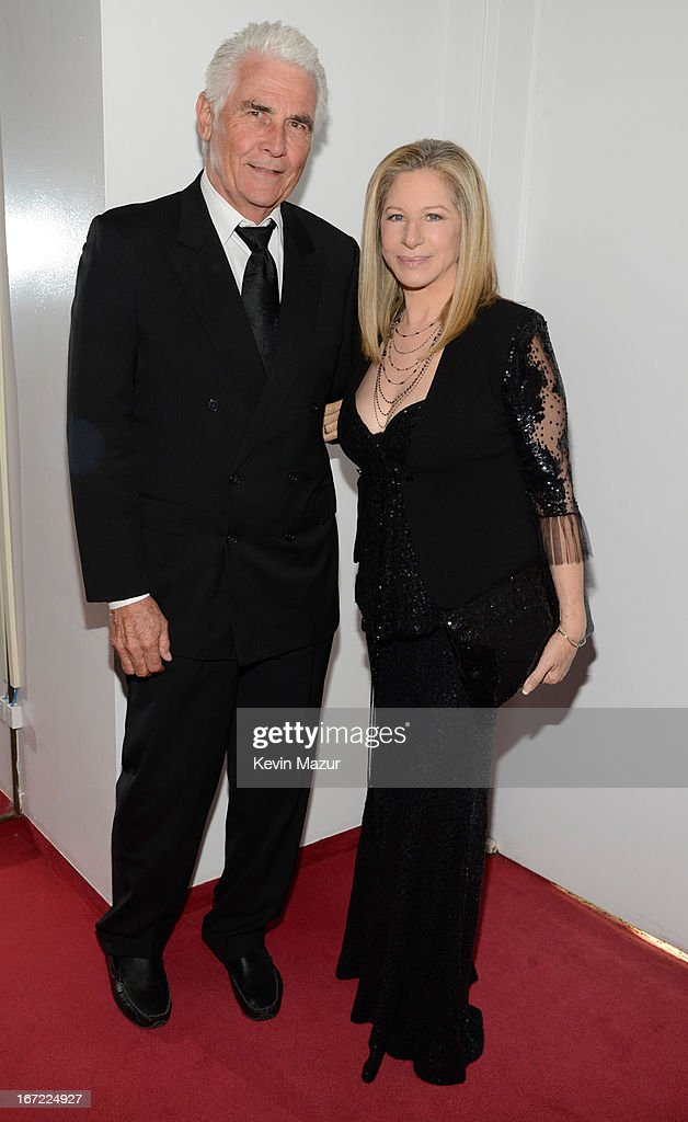 <a gi-track='captionPersonalityLinkClicked' href=/galleries/search?phrase=James+Brolin&family=editorial&specificpeople=213029 ng-click='$event.stopPropagation()'>James Brolin</a> and <a gi-track='captionPersonalityLinkClicked' href=/galleries/search?phrase=Barbra+Streisand&family=editorial&specificpeople=200745 ng-click='$event.stopPropagation()'>Barbra Streisand</a> backstage at the 40th Anniversary Chaplin Award Gala at Avery Fisher Hall at Lincoln Center for the Performing Arts on April 22, 2013 in New York City.