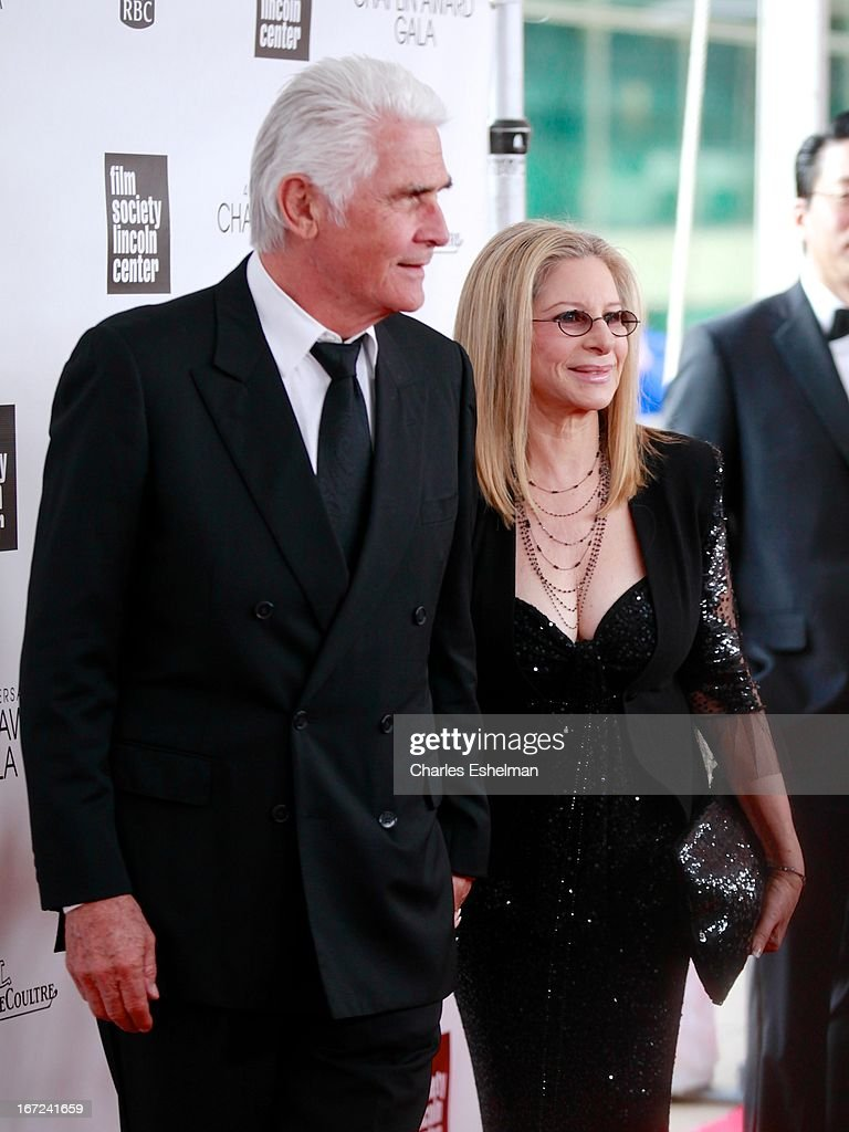 <a gi-track='captionPersonalityLinkClicked' href=/galleries/search?phrase=James+Brolin&family=editorial&specificpeople=213029 ng-click='$event.stopPropagation()'>James Brolin</a> and honoree <a gi-track='captionPersonalityLinkClicked' href=/galleries/search?phrase=Barbra+Streisand&family=editorial&specificpeople=200745 ng-click='$event.stopPropagation()'>Barbra Streisand</a> attend the 40th Anniversary Chaplin Award Gala at Avery Fisher Hall at Lincoln Center for the Performing Arts on April 22, 2013 in New York City.
