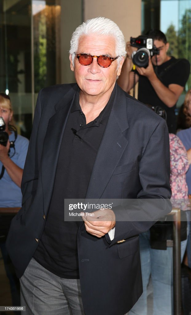 <a gi-track='captionPersonalityLinkClicked' href=/galleries/search?phrase=James+Brolin&family=editorial&specificpeople=213029 ng-click='$event.stopPropagation()'>James Brolin</a> arrives at the Television Critic Association's Summer press tour - Hallmark Channel & Hallmark Movie Channel event held at The Beverly Hilton Hotel on July 24, 2013 in Beverly Hills, California.