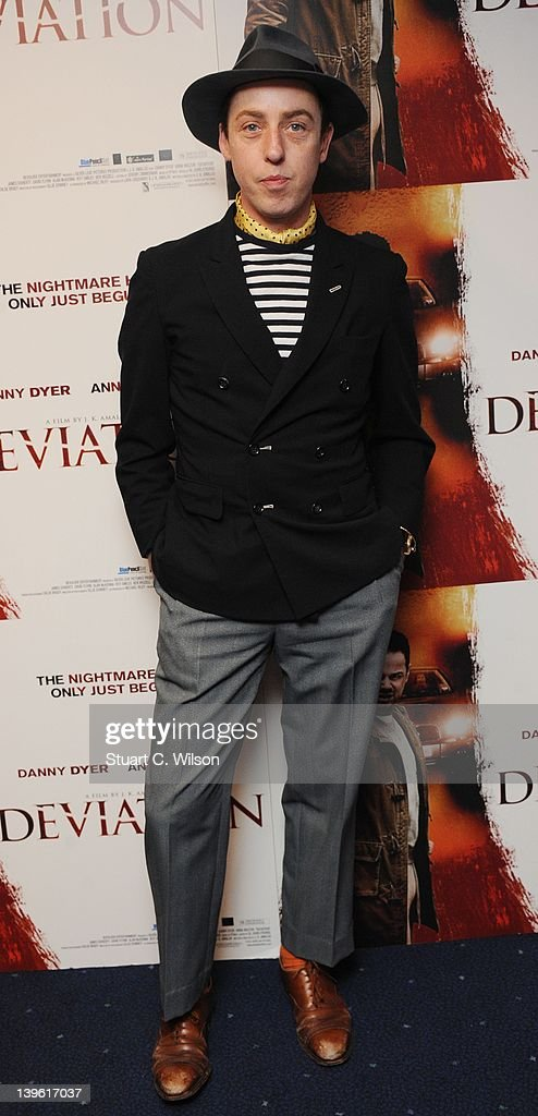 James Brown attends the Deviation World Premiere at Odeon Covent Garden on February 23, 2012 in London, England.