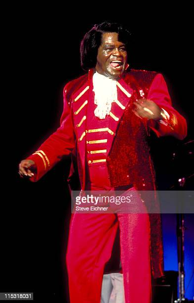 James Brown during James Brown in Concert at Paramount 1992 at Paramount in New York City New York United States