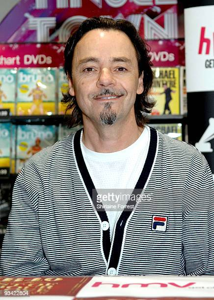 James Brown of UB40 attends an album signing at HMV on November 25 2009 in Birmingham England