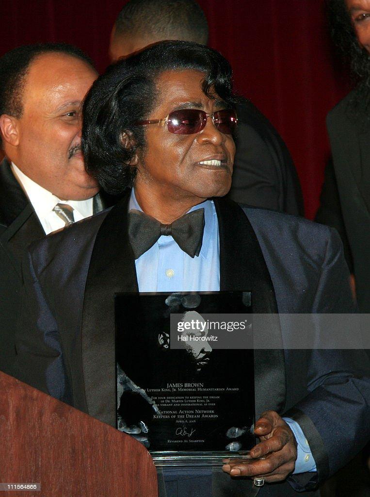James Brown winner of Martin Luther King Humanitarian Award