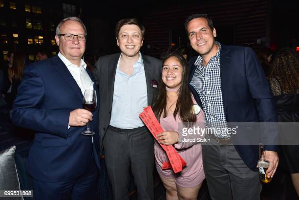 James Bruno Matthew Spiro Teak Fellow and Mike Ardisson attend The Junior Board of The TEAK Fellowship Presents A Midsummer Night at PhD Lounge at...