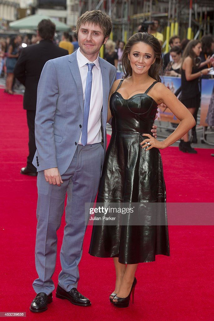 James Buckley and Clair Meek attends the World Premiere of 'The Inbetweeners 2' at Vue West End on August 5, 2014 in London, England.