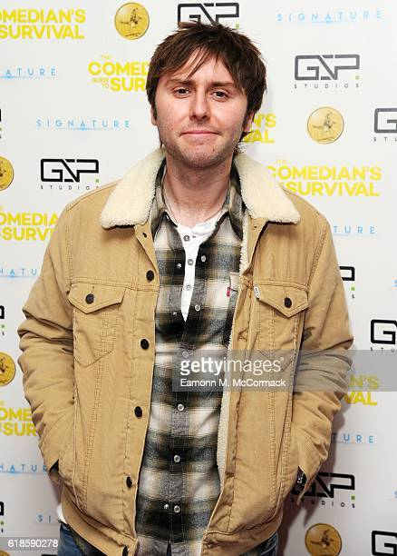 James Buckley attends the photocall for 'The Comedian's Guide To Survival' at Vue Piccadilly on October 27 2016 in London England