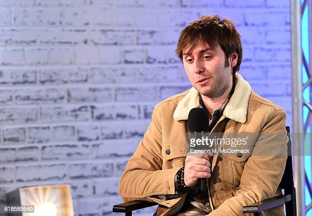 James Buckley joins BUILD for a live interview to discuss his new film 'The Comedians Guide to Survival' at their London studio AOL London on October...