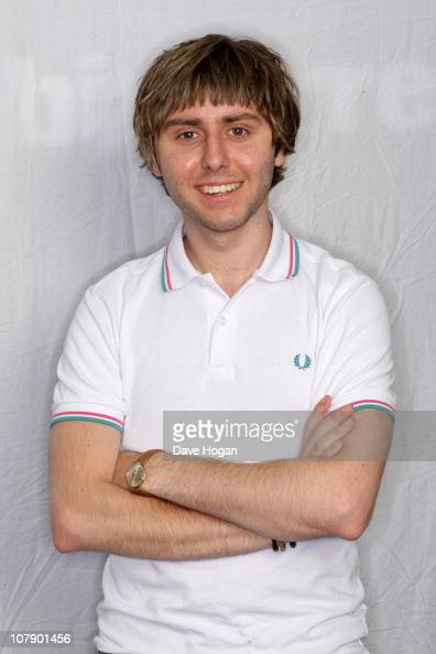 James Buckley of The Inbetweeners poses for a portrait session to promote the third series of the show to be aired on September 13 on June 24 2010 in...