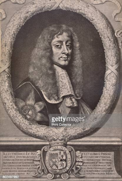 James Butler 1st Duke of Ormonde English statesman and royalist soldier mid to late 17th century From A Collection of Engraved Portraits Exhibited by...