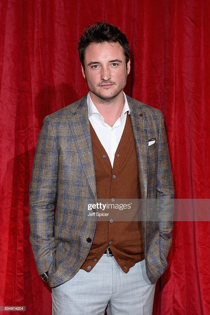 James Bye attends the British Soap Awards 2016 at Hackney Empire on May 28, 2016 in London, England.