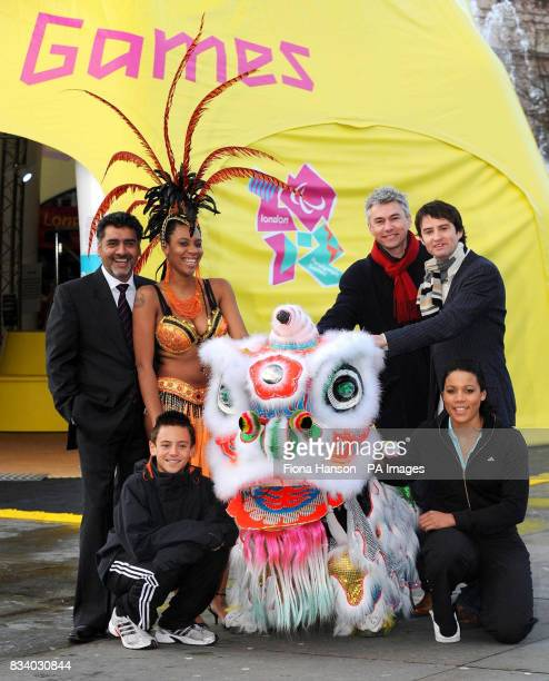 James Caan a Dragon's Den millionaire Thomas Daley a diving prodigy from Plymouth Simone Griffith a Notting Hill Carnival dancer a Chinese 'lion'...