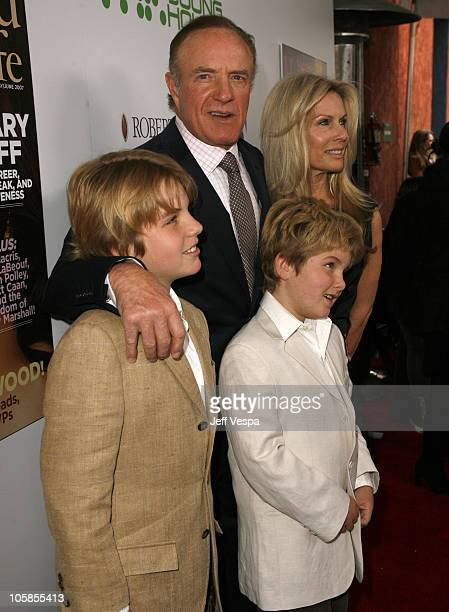 James Caan and family during Movieline's Hollywood Life 9th Annual Young Hollywood Awards Red Carpet at Hendy Fonda Theater in Los Angeles California...